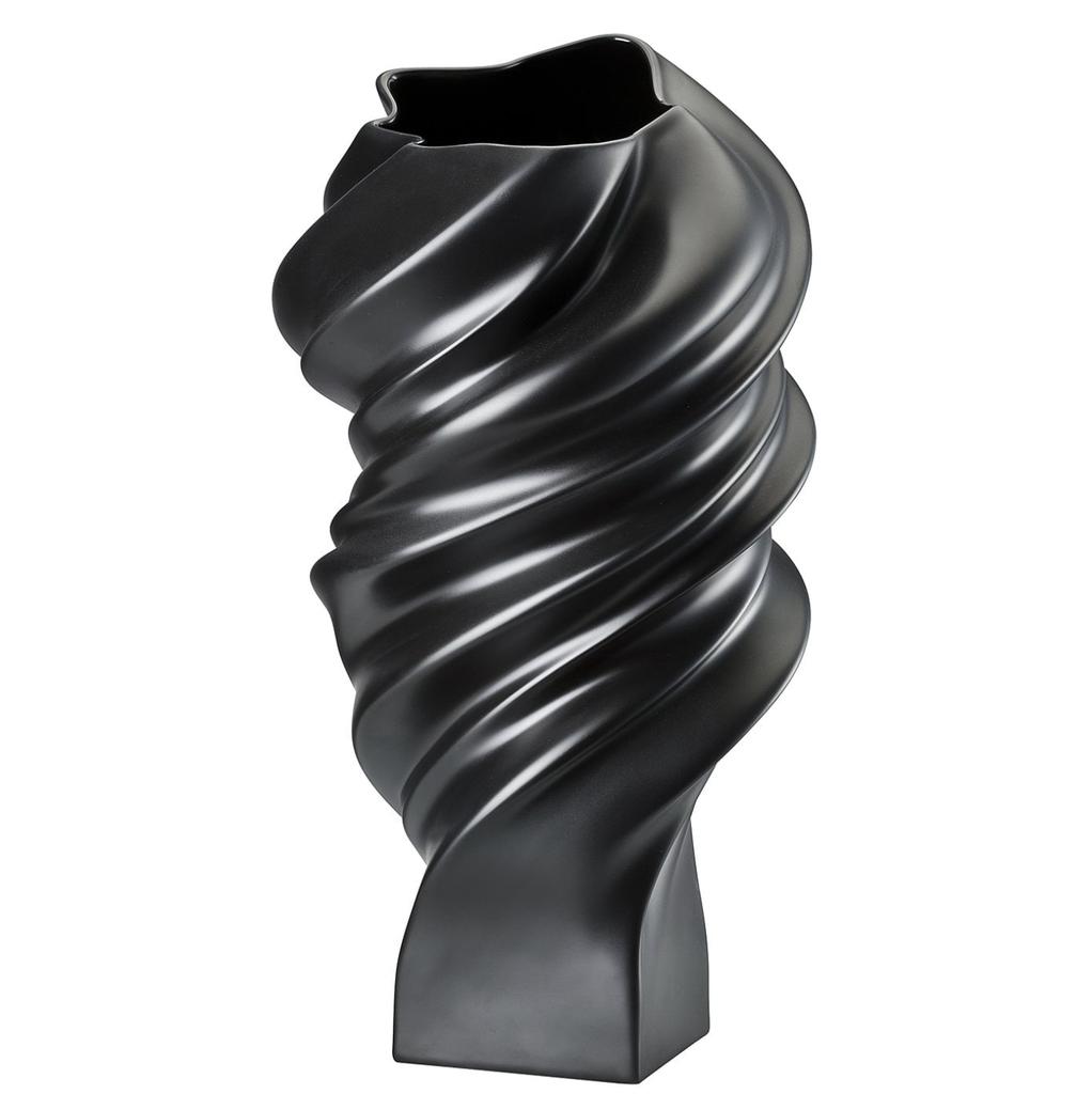 ROSENTHAL - Vase Squall Scharz 32cm-4