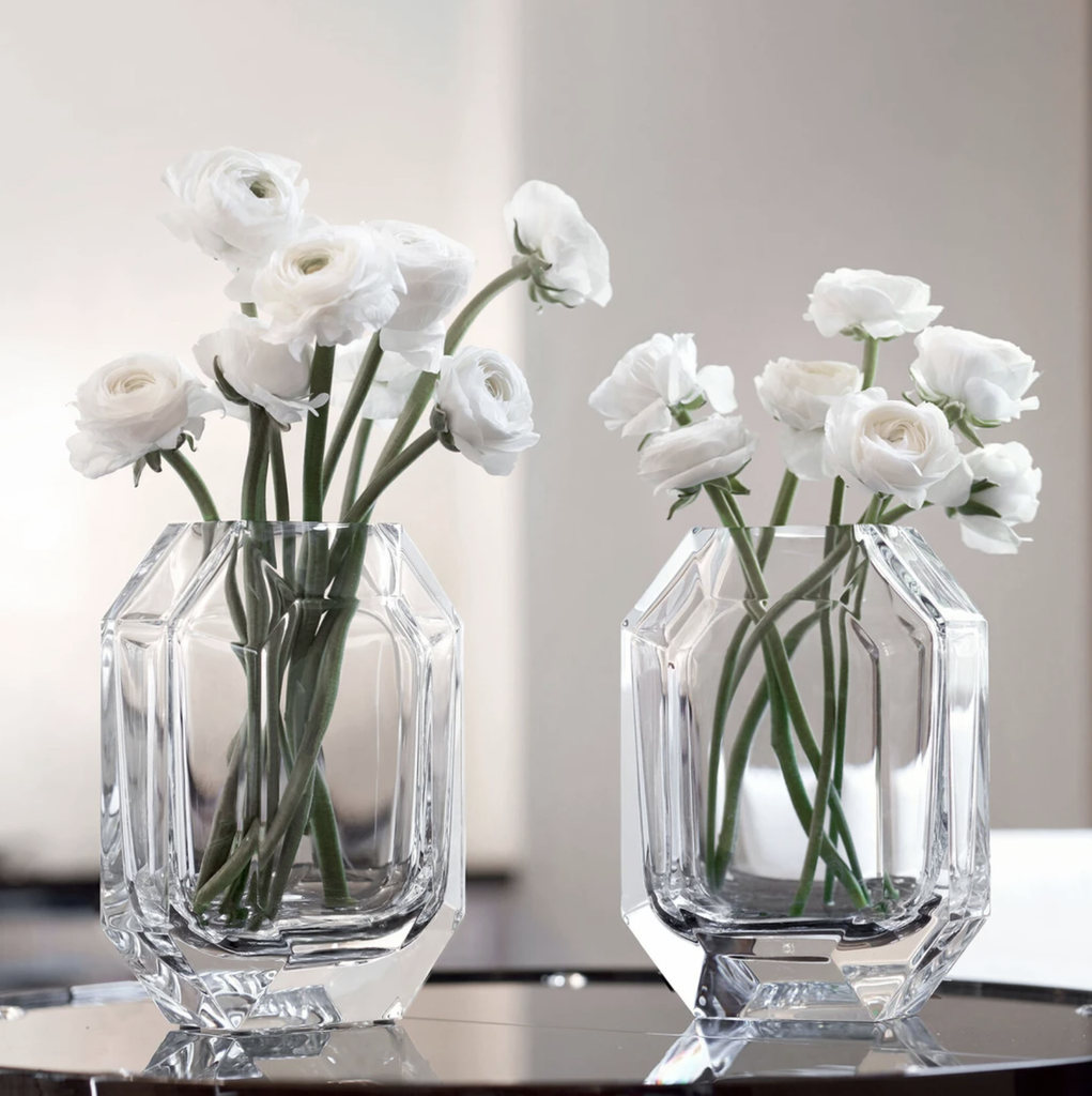BACCARAT - Vase Octogon 25cm-3