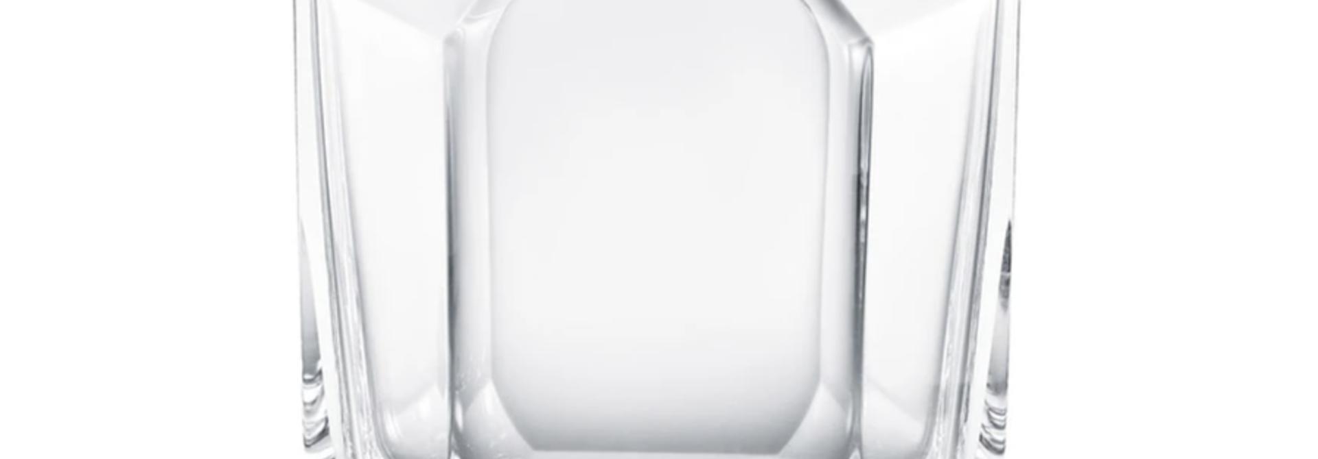 BACCARAT - Vase Octogon 25cm