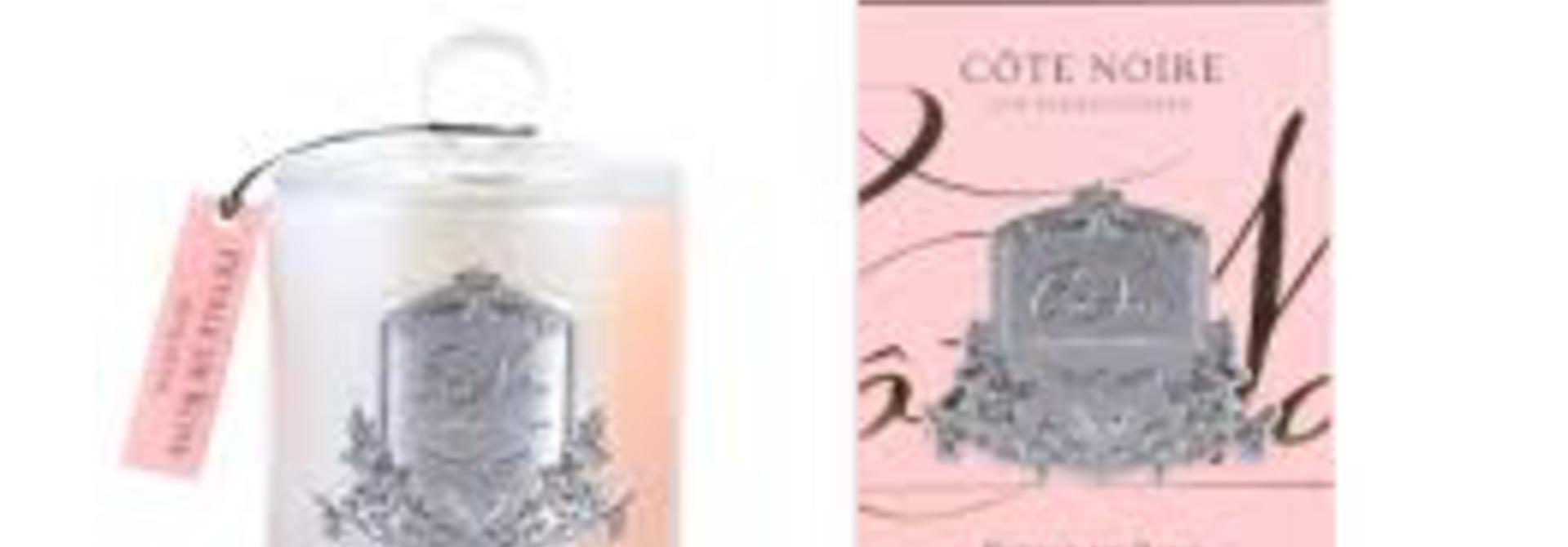 COTE NOIRE -  Candle Rose Petal 450gr