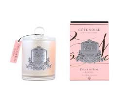 COTE NOIRE -  Candle Rose Petal 450gr-1