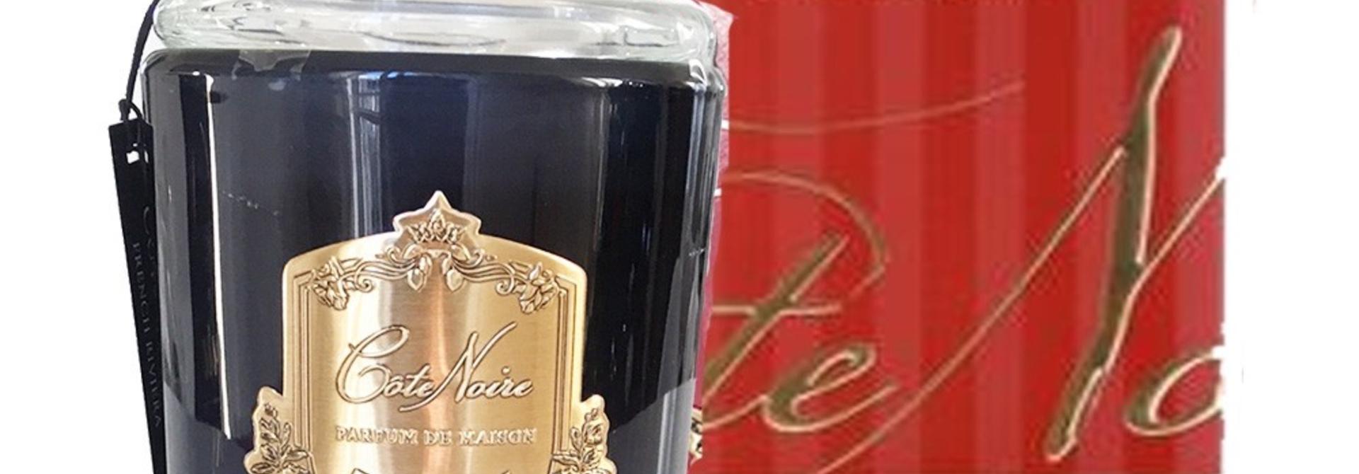 COTE NOIRE -  Candle Cognac and Tobacco 450gr
