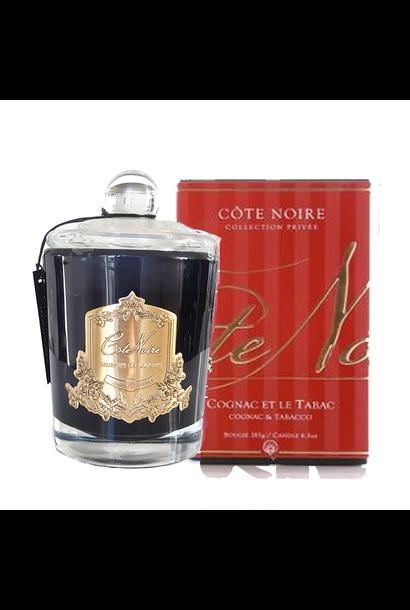 COTE NOIRE - Bougie Cognac et Tabac 450gr