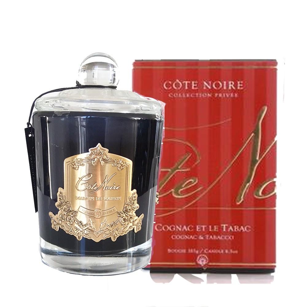 COTE NOIRE -  Candle Cognac and Tobacco 450gr-1