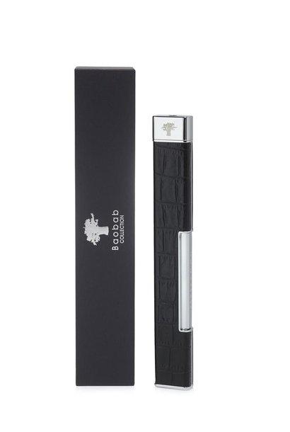 BAOBAB COLLECTION - Lighter Croco Noir