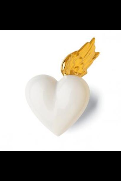 DENZ HERZ - Gold Wing Heart