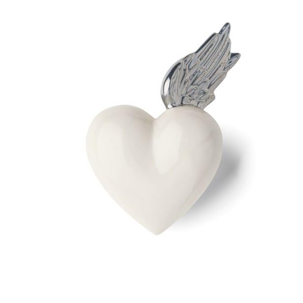 DENZ HERZ - White and Silver Berenike Heart-1