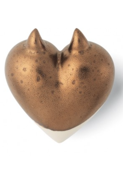 DENZ HERZ - Coeur Cool Bronze
