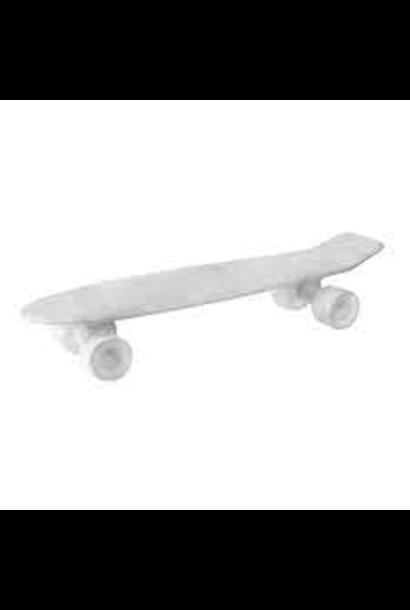 SELETTI - Skateboard Plateau Blanc