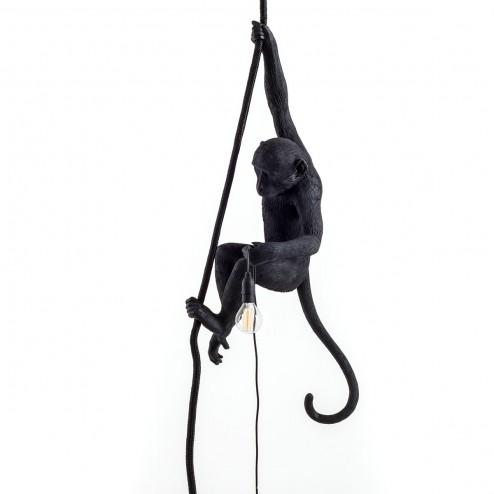 SELETTI - Rope Monkey Lamp-1