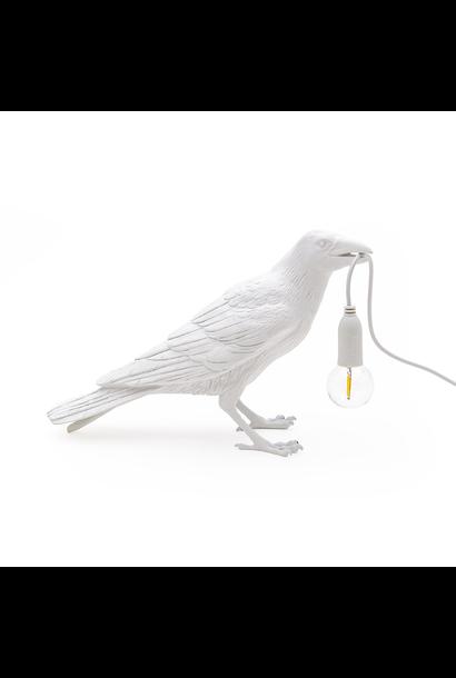SELETTI - Lampe Oiseau Blanc