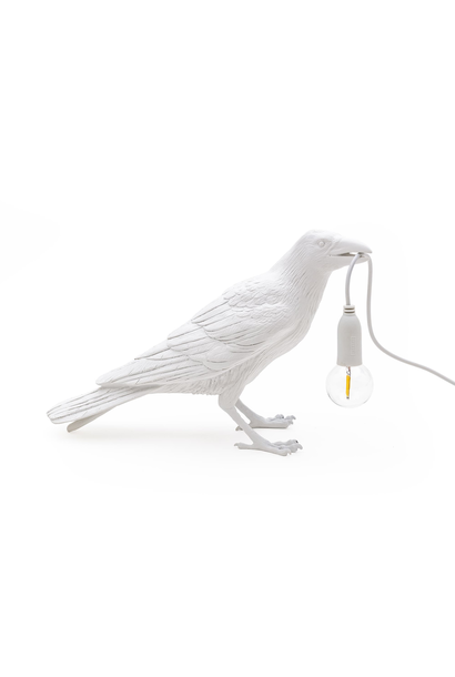SELETTI - White Bird Lamp