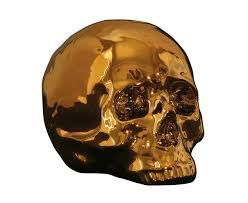 SELETTI - Limited Gold My Skull-1