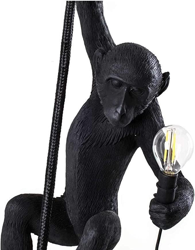SELETTI - Rope Monkey Lamp-2