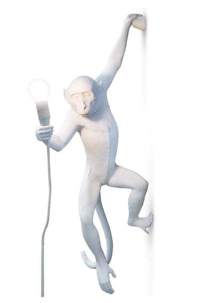 SELETTI - Lampe Singe Blanc