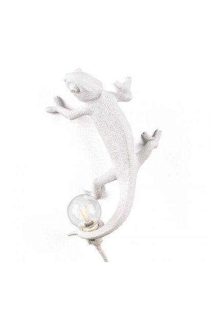 SELETTI - White Chameleon Lamp