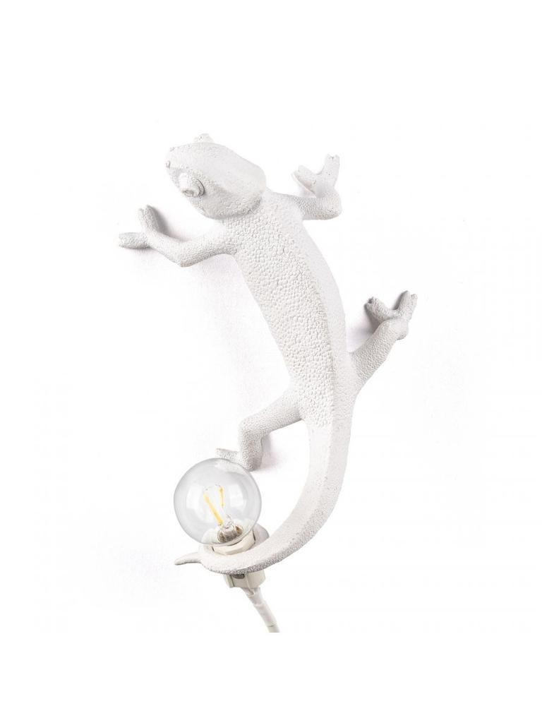 SELETTI - White Chameleon Lamp-1