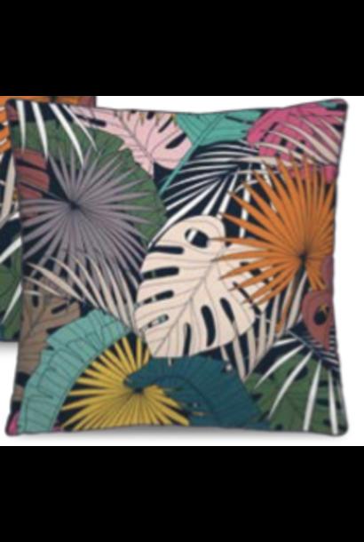 PÔDEVACHE - Coussin Fleurs Exotic 45x45cm