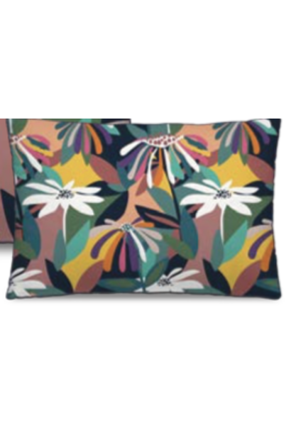PÔDEVACHE - Heavy Flowers Cushion 40x60cm