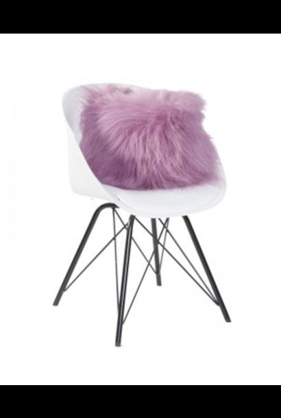 DYRESKINN - Pink Sheepskin Cushion 40x40cm