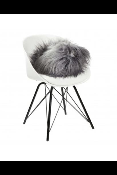 DYRESKINN - Icelandic Gray Cushion 40x40cm