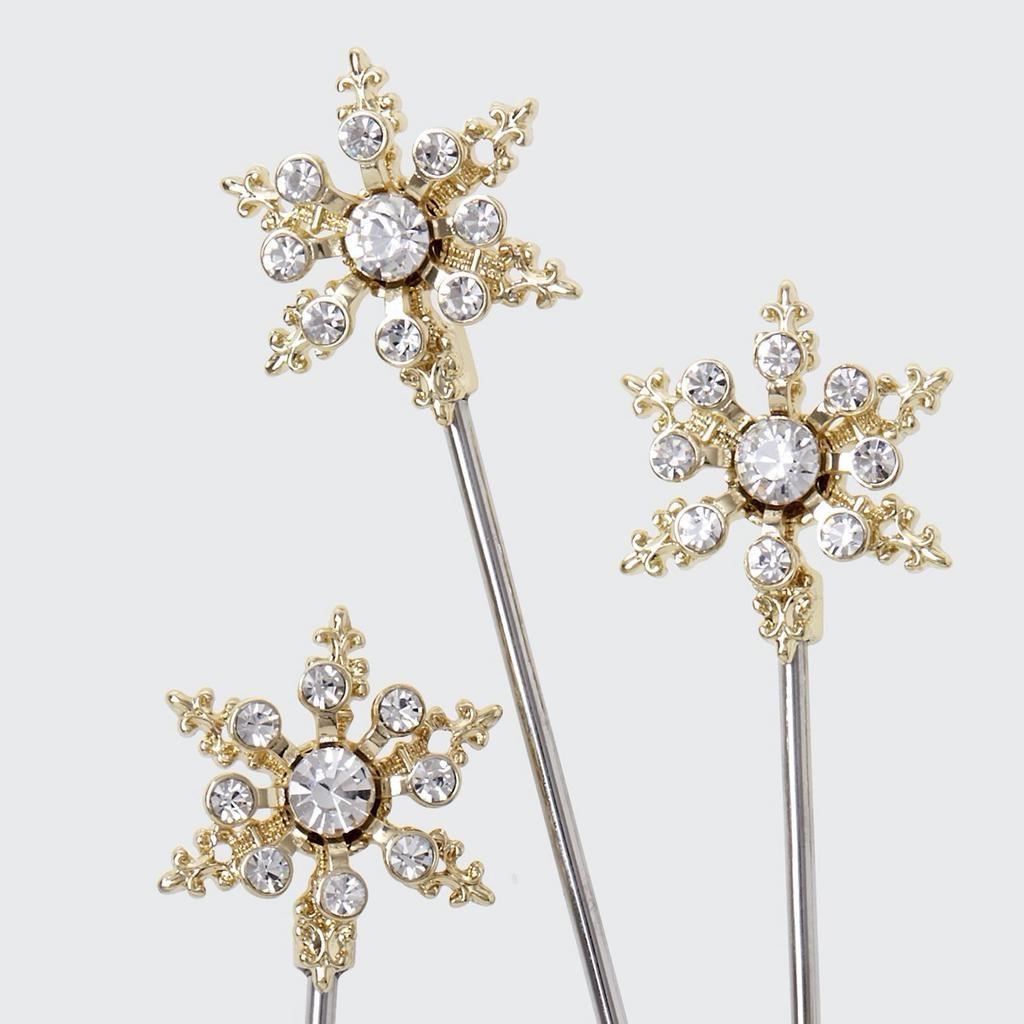 JOANNA BUCHANAN - Snowflake Cocktail Picks-3
