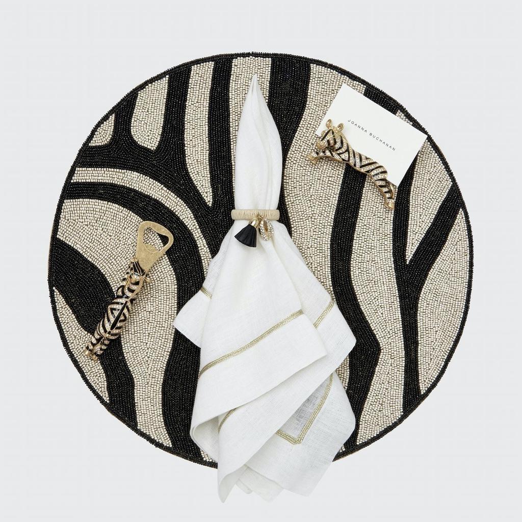 JOANNA BUCHANAN - Brand Zebra Square Set-3