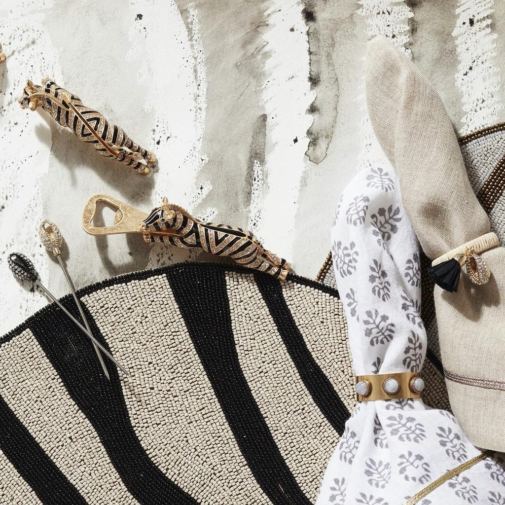 JOANNA BUCHANAN - Brand Zebra Square Set-5