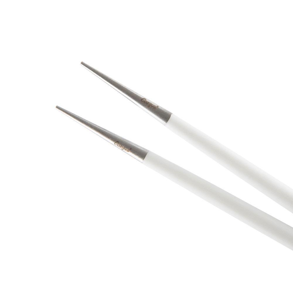 CUTIPOL - Goa Chopsticks 3 pcs White / Stainless steel-2