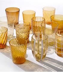 ZAFFERANO - Amber Glasses Set-1