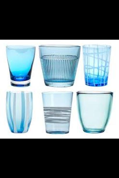 ZAFFERANO - Aquamarine Set Glasses