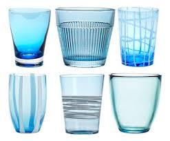 ZAFFERANO - Aquamarine Set Glasses-1