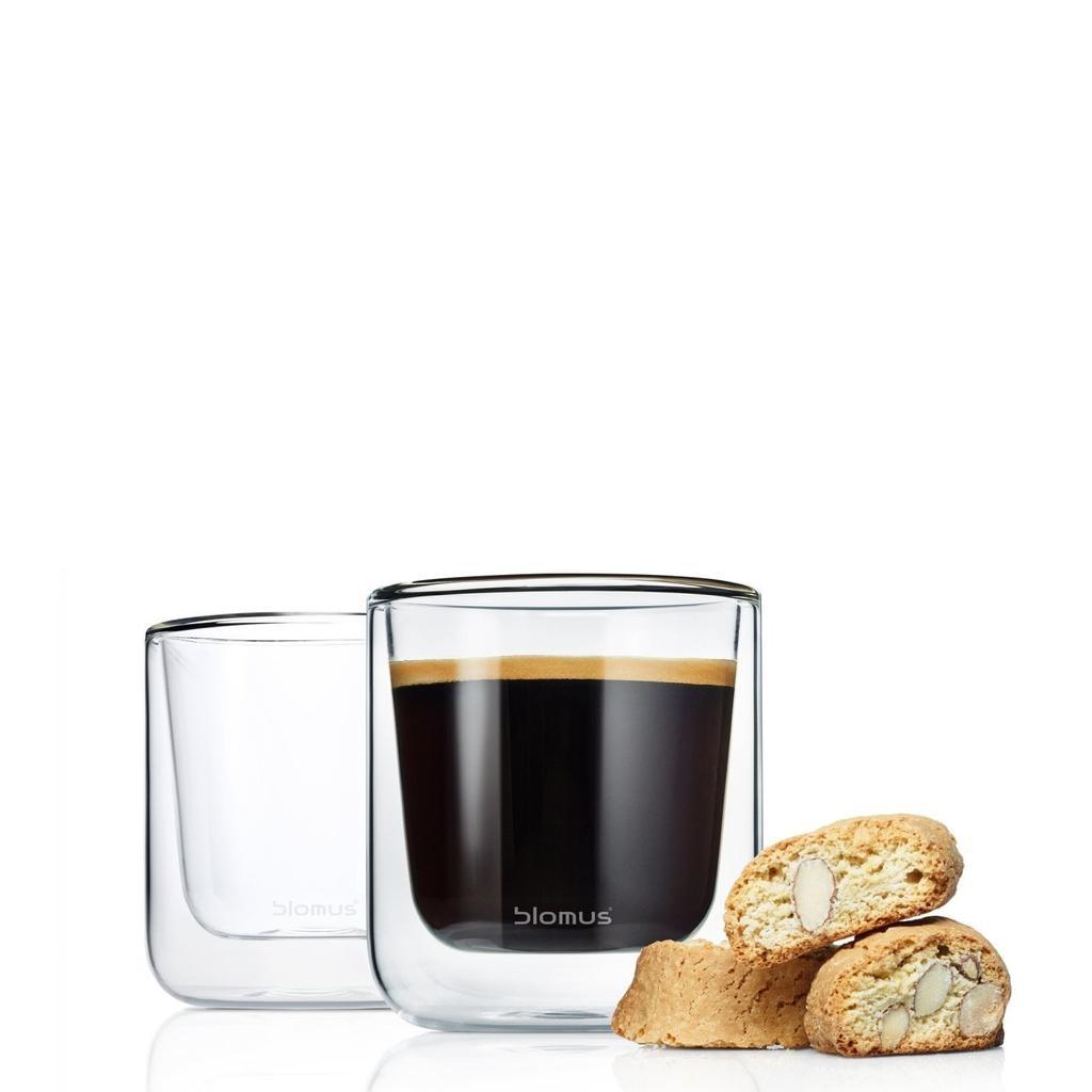 BLOMUS - Nero Set Espresso Glasses-1
