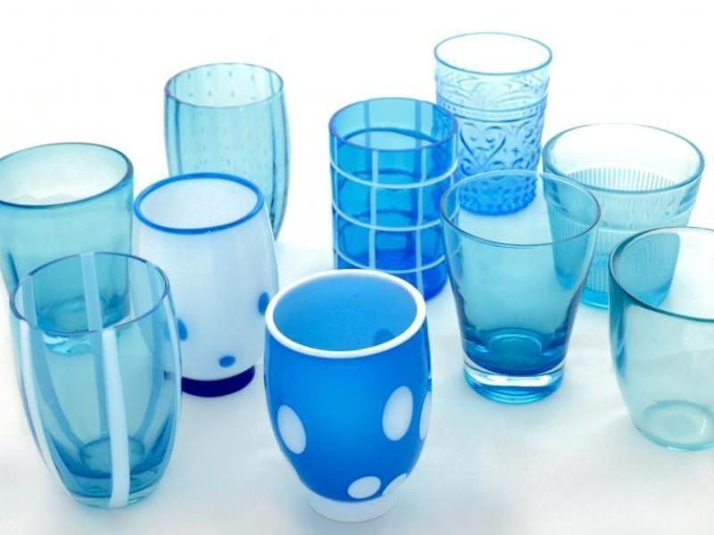 ZAFFERANO - Aquamarine Set Glasses-2