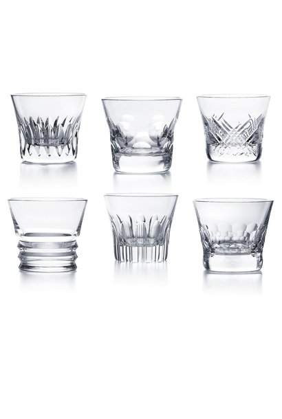 BACCARAT - Set of 6 Everyday Classic Glasses