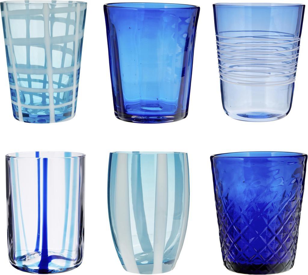 ZAFFERANO - Blue Melting Pot Glasses Box-2