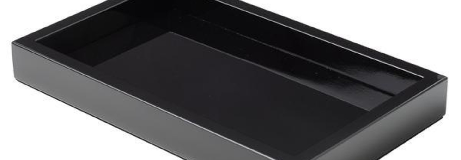ARCAHORN - Tray Black Lacquer