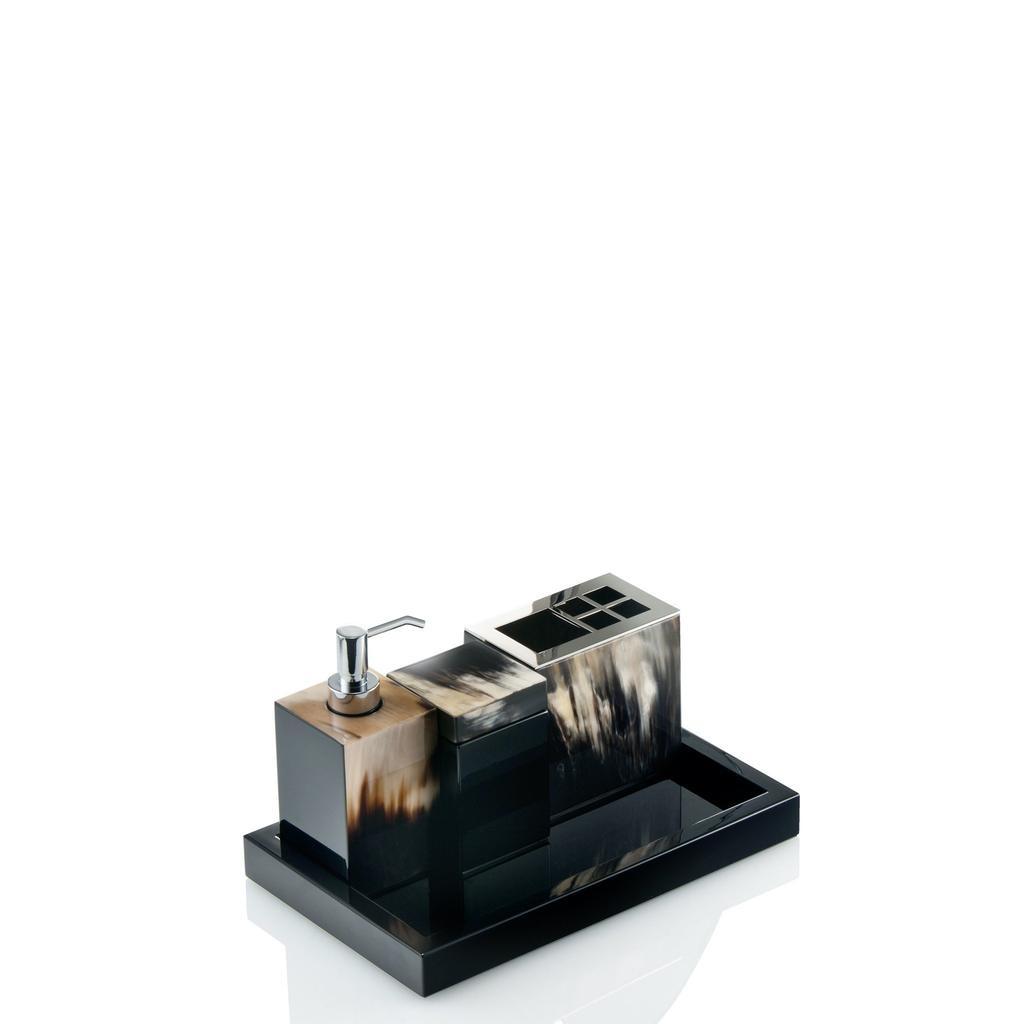 ARCAHORN - Tray Black Lacquer-2