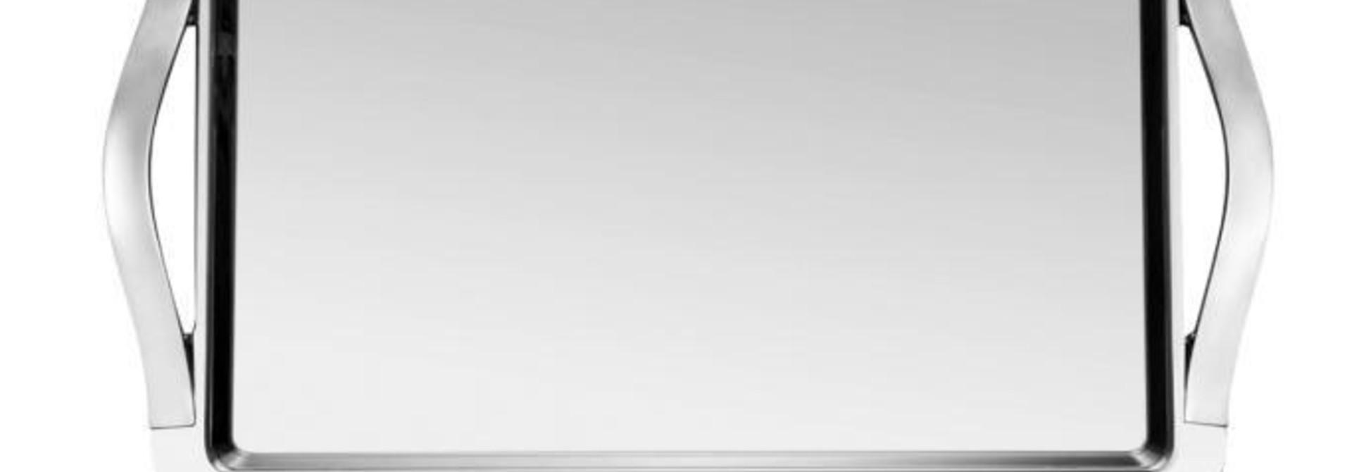 GUY DEGRENNE - Newport Stainless Steel Tray 65x53cm