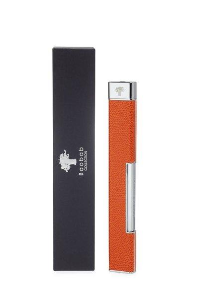 BAOBAB COLLECTION - Lighter Grainé Orange