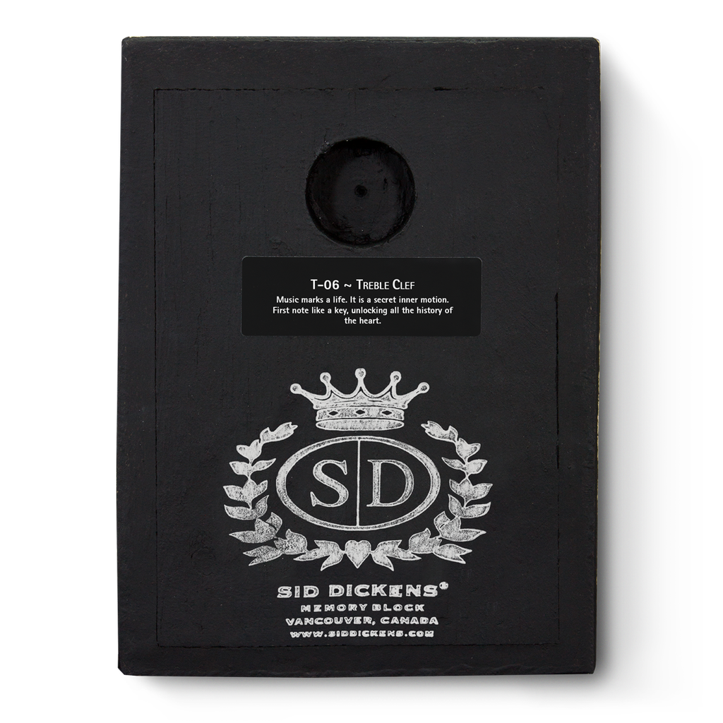 SID DICKENS - Treble Clef Frame-4