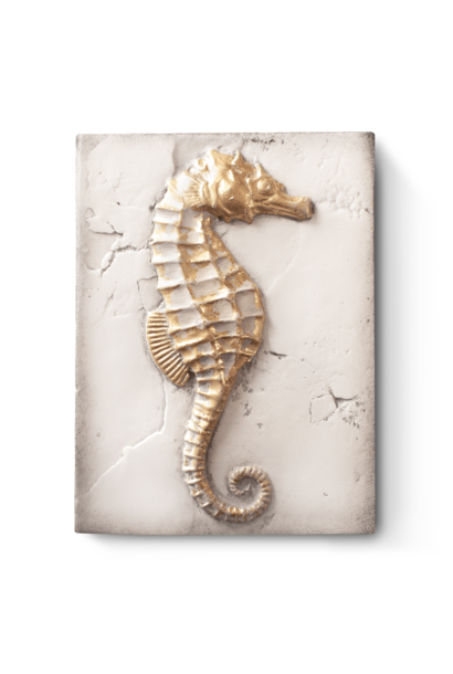 SID DICKENS - Seahorse Gold Frame