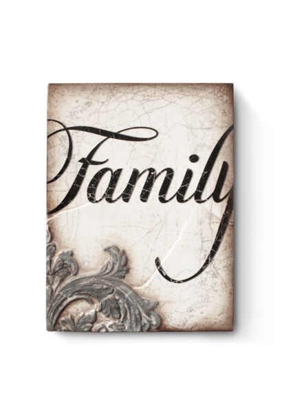 SID DICKENS - Family Frame