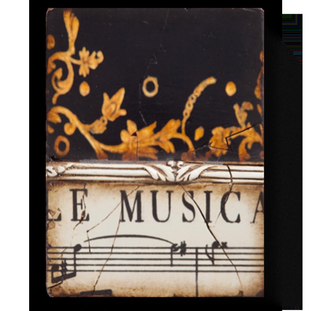 SID DICKENS - Musica Sheet Music Frame-1