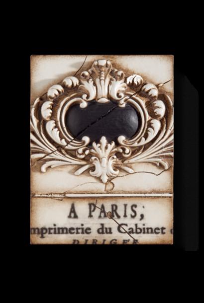 SID DICKENS - French Escutcheon Frame