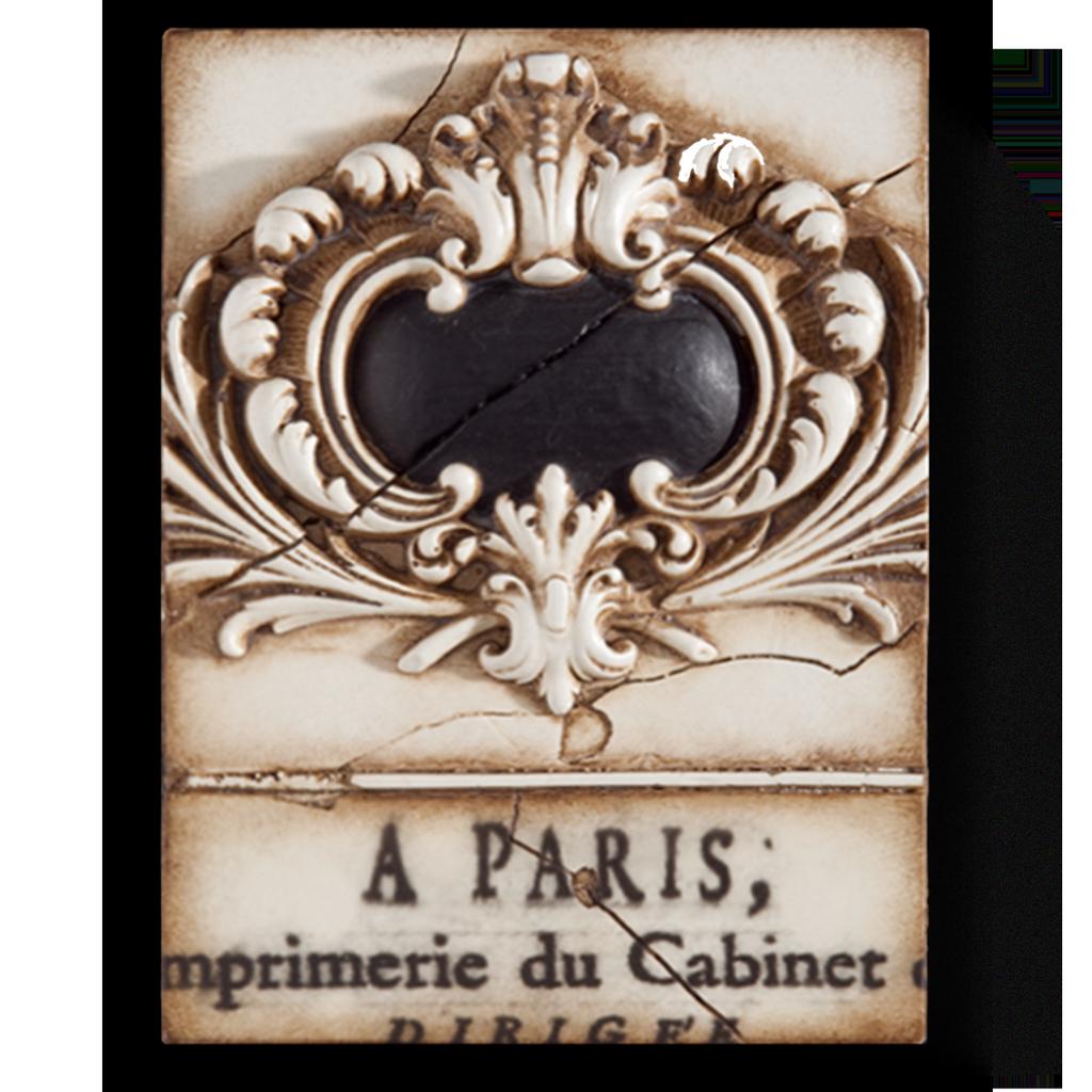 SID DICKENS - French Escutcheon Frame-1