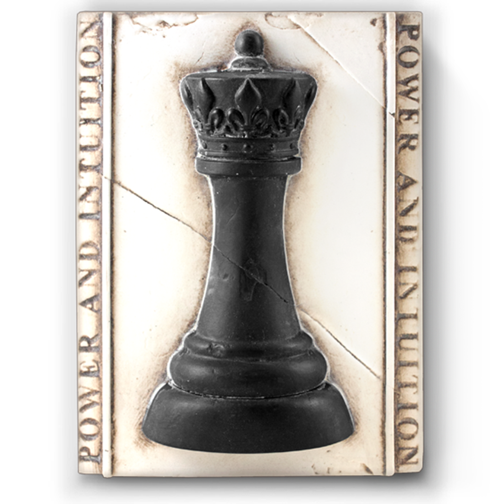 SID DICKENS - Chess Queen Frame-1