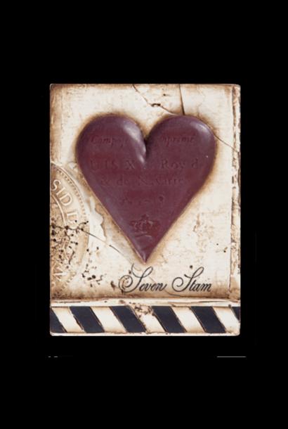 SID DICKENS - Cadre Coeur Seven Stam