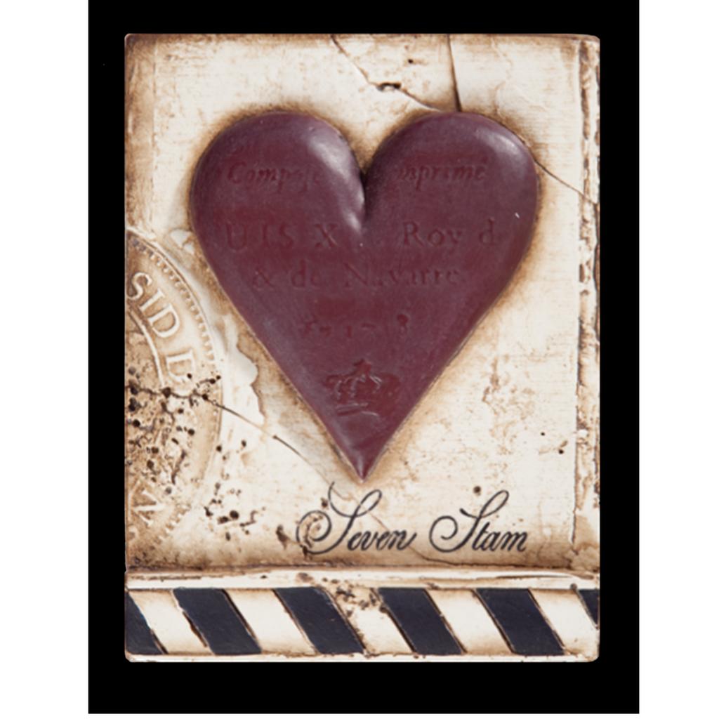SID DICKENS - Seven Stam Heart Frame-1
