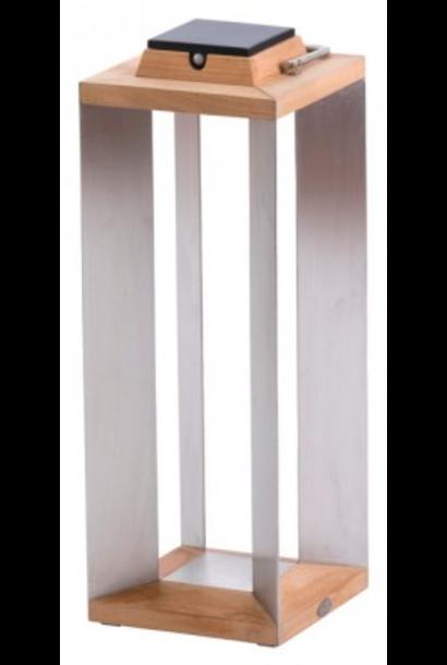 LES JARDINS - Lanterne Solaire Blanc GM